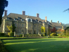 Historic Llangoed Hall in Wales