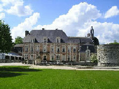 Historic Chateau d'Etoges, Champagne Ardennes