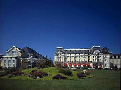 The famous Grand Hotel Cabourg