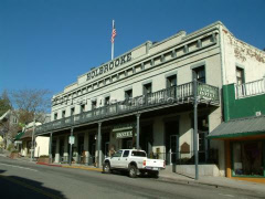 The Holbrooke Hotel in Grass Valley