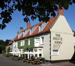 The Hoste Arms in beautiful Burnham Market