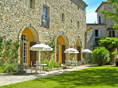 Chateau d'Arpaillargues near Uzes, France