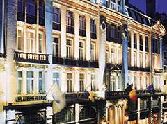 The Astoria Hotel in Brussels, Belgium
