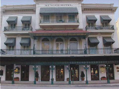 The historic Menger Hotel in San Antonio