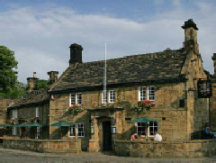 The Devonshire Arms in splendid Beeley