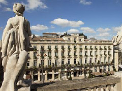 The iconic Grand Hotel Bordeaux
