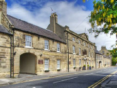Picturesque Warkworth House Hotel
