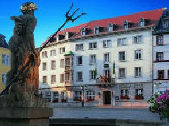 The historic Hotel Elephant in Weimar
