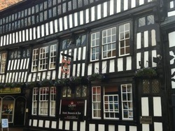 The historic Crown Inn, Nantwich