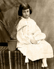 Photograph of Alice Liddell